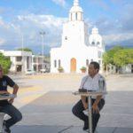 Gobernador Monsalvo inauguró en San Diego sede operativa de Tránsito y entregó primera placa para el Cesar